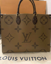 Load image into Gallery viewer, Louis Vuitton Reverse Monogram OnTheGo GM