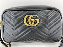 Load image into Gallery viewer, Gucci Black Matelasse Marmont Small
