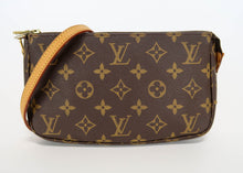 Load image into Gallery viewer, Louis Vuitton Monogram Pochette w/ Crossbody Strap