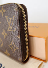 Load image into Gallery viewer, Louis Vuitton Monogram with Pink Zippy Wallet