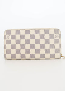 Louis Vuitton Damier Azur Zippy Wallet
