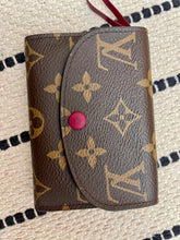 Load image into Gallery viewer, Louis Vuitton Monogram Rosalie Wallet w/ Fuchsia