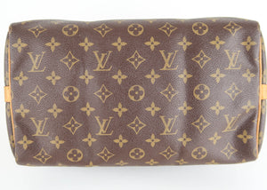 Louis Vuitton Monogram Speedy 30 Bandouliere