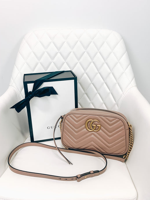 Gucci Small Marmont Crossbody
