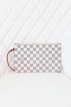 Load image into Gallery viewer, Louis Vuitton Damier Azur Neverful Pouch GM