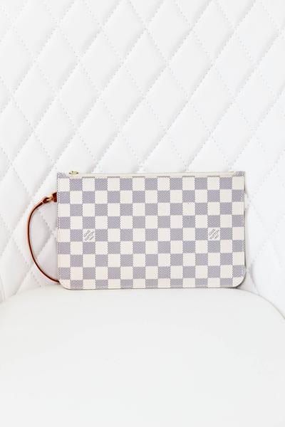 Louis Vuitton Damier Azur Neverful Pouch GM
