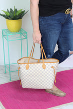 Load image into Gallery viewer, Louis Vuitton Damier Azur Neverful MM