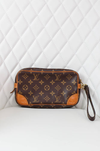 Louis Vuitton Dragonne Monogram Wristlet
