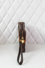 Load image into Gallery viewer, Louis Vuitton Dragonne Monogram Wristlet