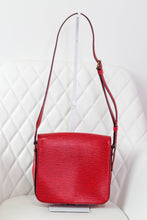 Load image into Gallery viewer, Louis Vuitton Red Epi Cartouchiere MM Crossbody