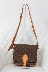 Louis Vuitton Monogram Cartouchiere MM Crossbody