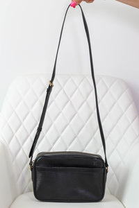 Louis Vuitton Black Epi Trocadero 24 Crossbody
