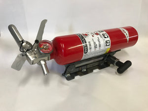 Quick Release Fire Extinguisher Tube Mount