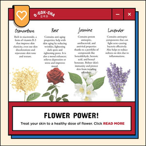 FLOWER POWER! Do you know the benefits of flowers for your skin?