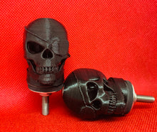 HoodSkulls® Pirates. Includes set of two. Jeep Wrangler Hood Accessory.