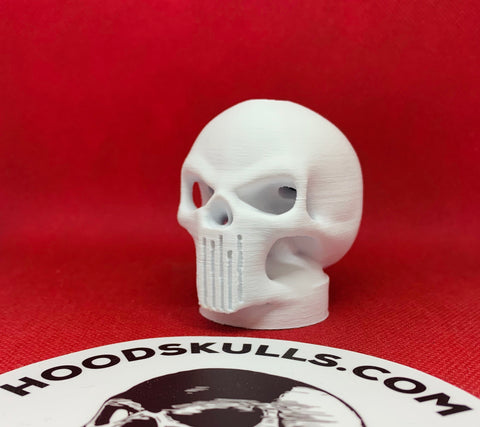 Alien Vigilante HoodSkulls® will compliment your Punisher decals. HoodSkulls® bolt onto anything with a hole. Cool Jeep accessories for your badass rig.