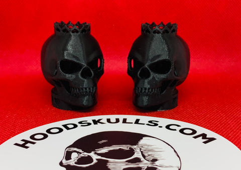 HoodSkulls® ROYALTY. Includes set of two.