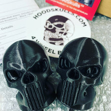 HoodSkulls® Aliens. Includes set of two. Select size and style. Jeep Wrangler Hood Accessory.