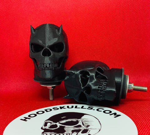Badass accessories for cool Jeeps and trucks. Stainless steel hardware included with HoodSkulls®. Different sizes and designs. Made in USA.