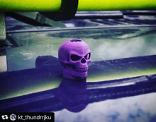HoodSkulls® blsk2. Includes set of two. Select color and size. Jeep Wrangler Hood Accessory.