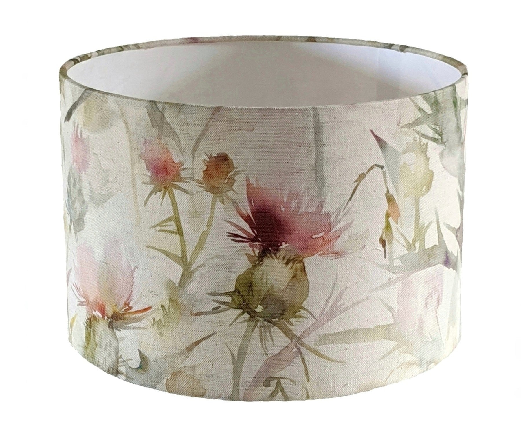 Voyage Circium russet thistle lampshade for a ceiling pendant -  20cm, 30cm and 40cm