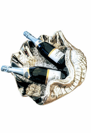 Shell wine cooler
