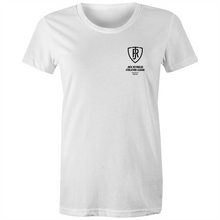 Load image into Gallery viewer, JOCK REYNOLDS EVOLUTION LEAGUE - WOMEN'S TSHIRT (BADGE)