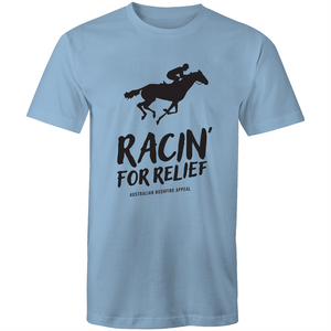 RACIN' FOR RELIEF - BUSHFIRE APPEAL T-SHIRT