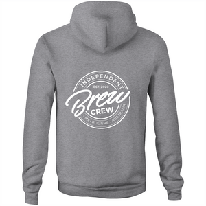 BREW CREW - HOODIE (FRONT & BACK)