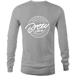 BREW CREW - LONG SLEEVE TSHIRT (FRONT & BACK)
