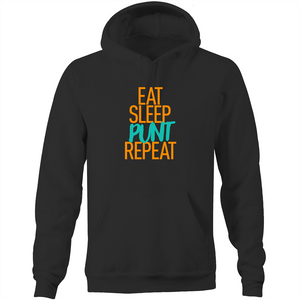 EAT SLEEP PUNT REPEAT - HOODIE (DARK MODE)