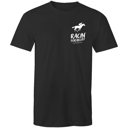 RACIN' FOR RELIEF - BUSHFIRE APPEAL T-SHIRT (LEFT BREAST REVERSE)