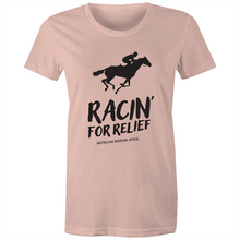 Load image into Gallery viewer, RACIN' FOR RELIEF - BUSHFIRE APPEAL WOMEN'S T-SHIRT