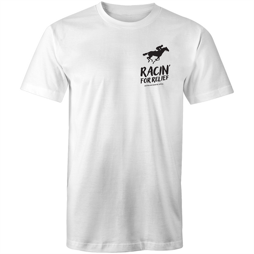 RACIN' FOR RELIEF - BUSHFIRE APPEAL T-SHIRT (LEFT BREAST)