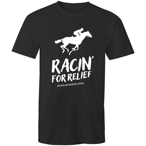 RACIN' FOR RELIEF - BUSHFIRE APPEAL T-SHIRT (REVERSE)
