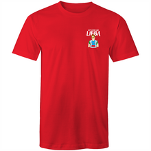 Load image into Gallery viewer, GET LOOSE LIKE LIBBA - BADGE TSHIRT COLOUR