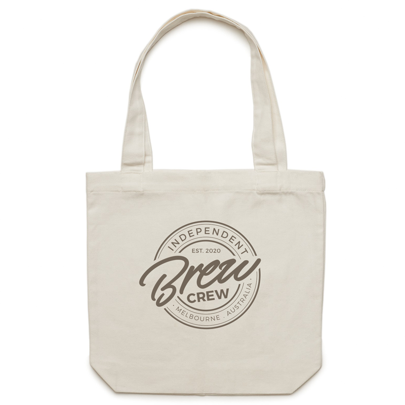 BREW CREW - CANVAS TOTE BAG
