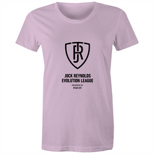 Load image into Gallery viewer, JOCK REYNOLDS EVOLUTION LEAGUE - WOMEN'S TSHIRT