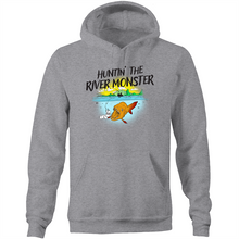 Load image into Gallery viewer, HUNTIN' THE RIVER MONSTER - HOODIE