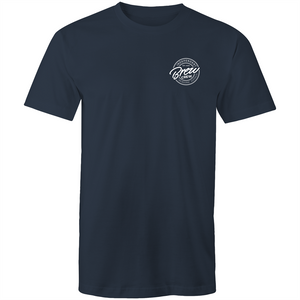 BREW CREW - TSHIRT (REVERSE BADGE)