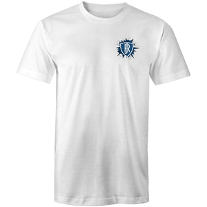 JOCK REYNOLDS - CARLTON BADGE TSHIRT