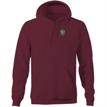 Load image into Gallery viewer, SUBPOENAED - SILK BADGE HOODIE