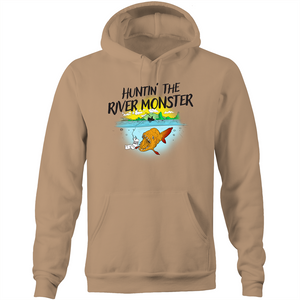 HUNTIN' THE RIVER MONSTER - HOODIE