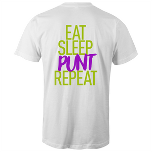 EAT, SLEEP, PUNT, REPEAT - GREEN & PURPLE
