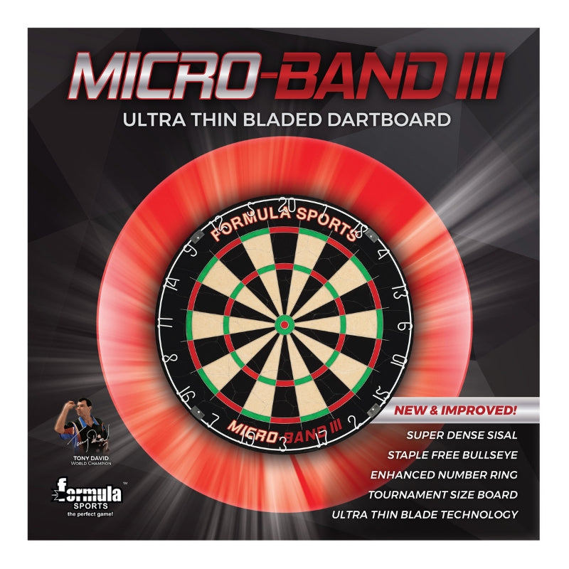 Formula Micro Band 3 Pro Bladed Dartboard 9 out of 10