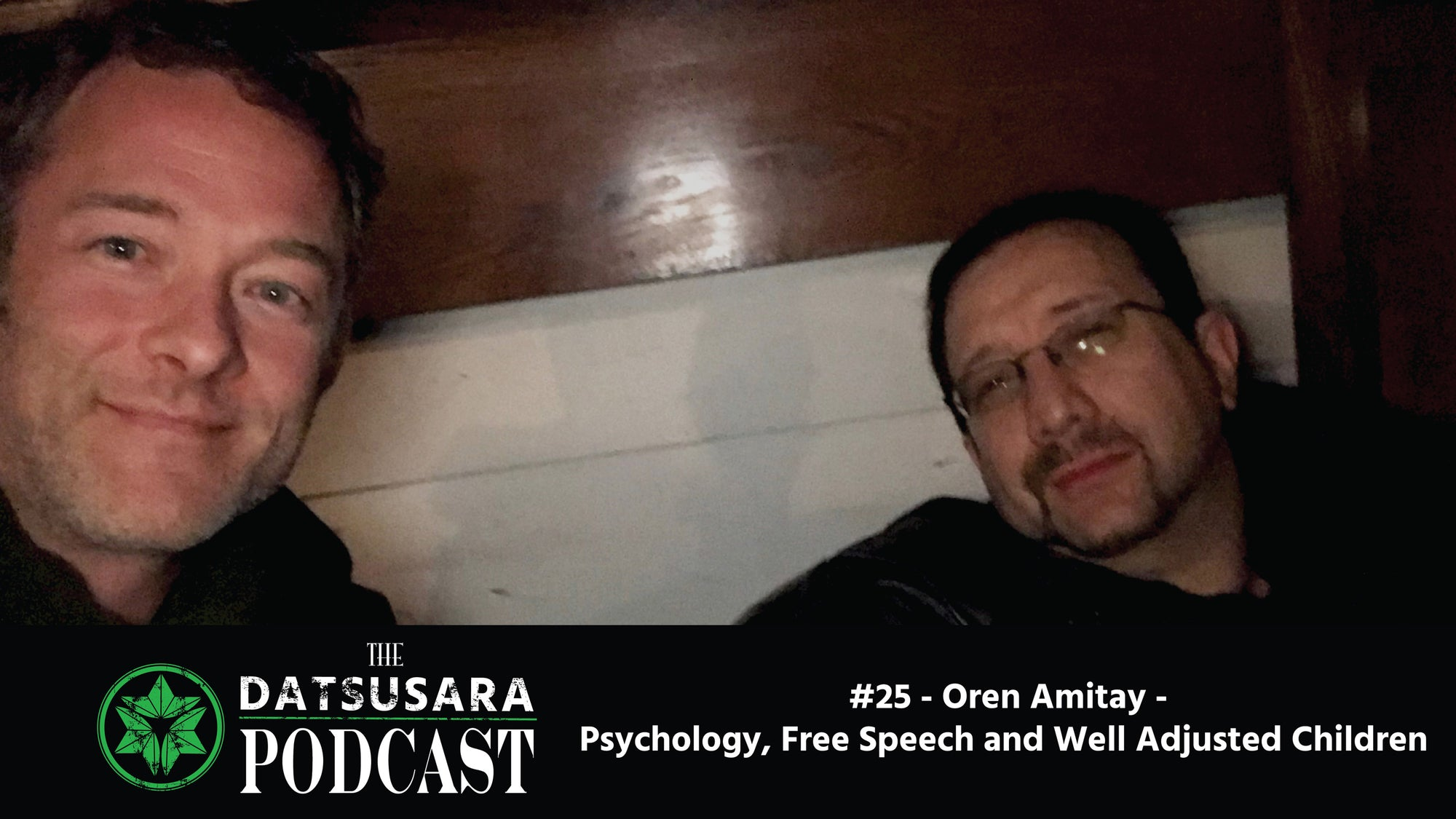 #25 - Oren Amitay - Psychology, Free Speech and Well Adjusted Children