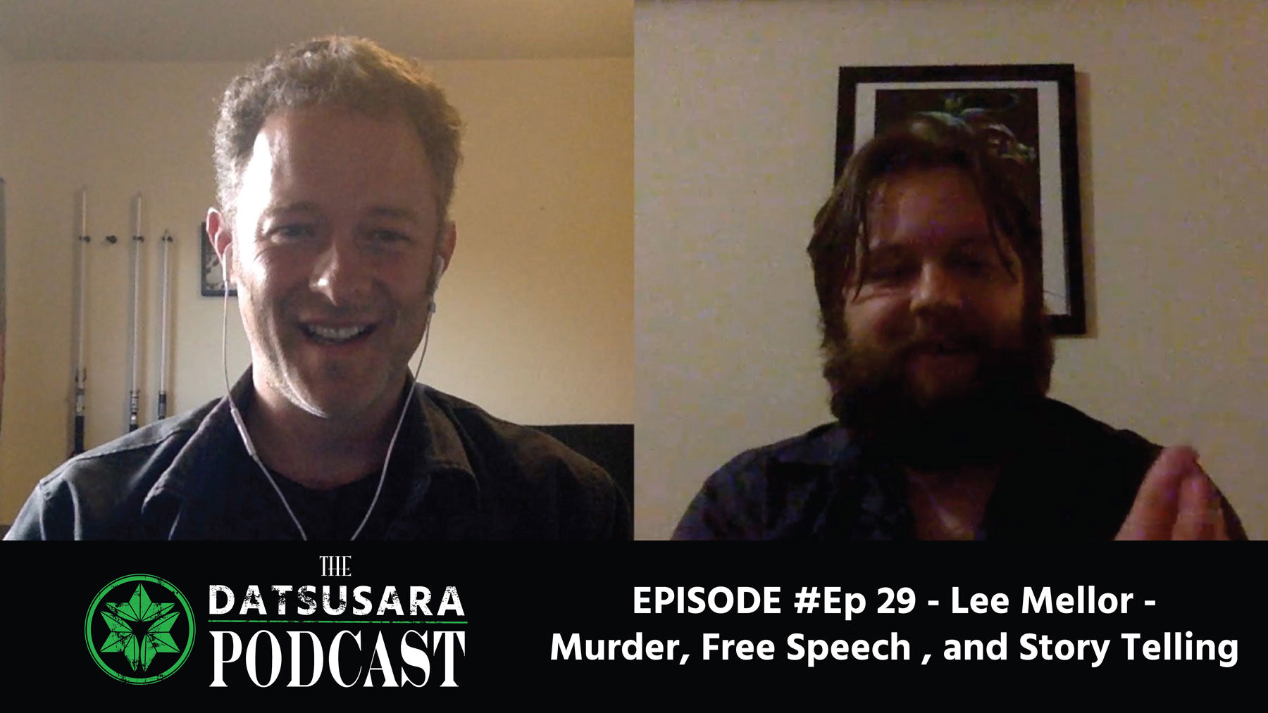 #29 - Lee Mellor - Murder, Free Speech, and Storytelling