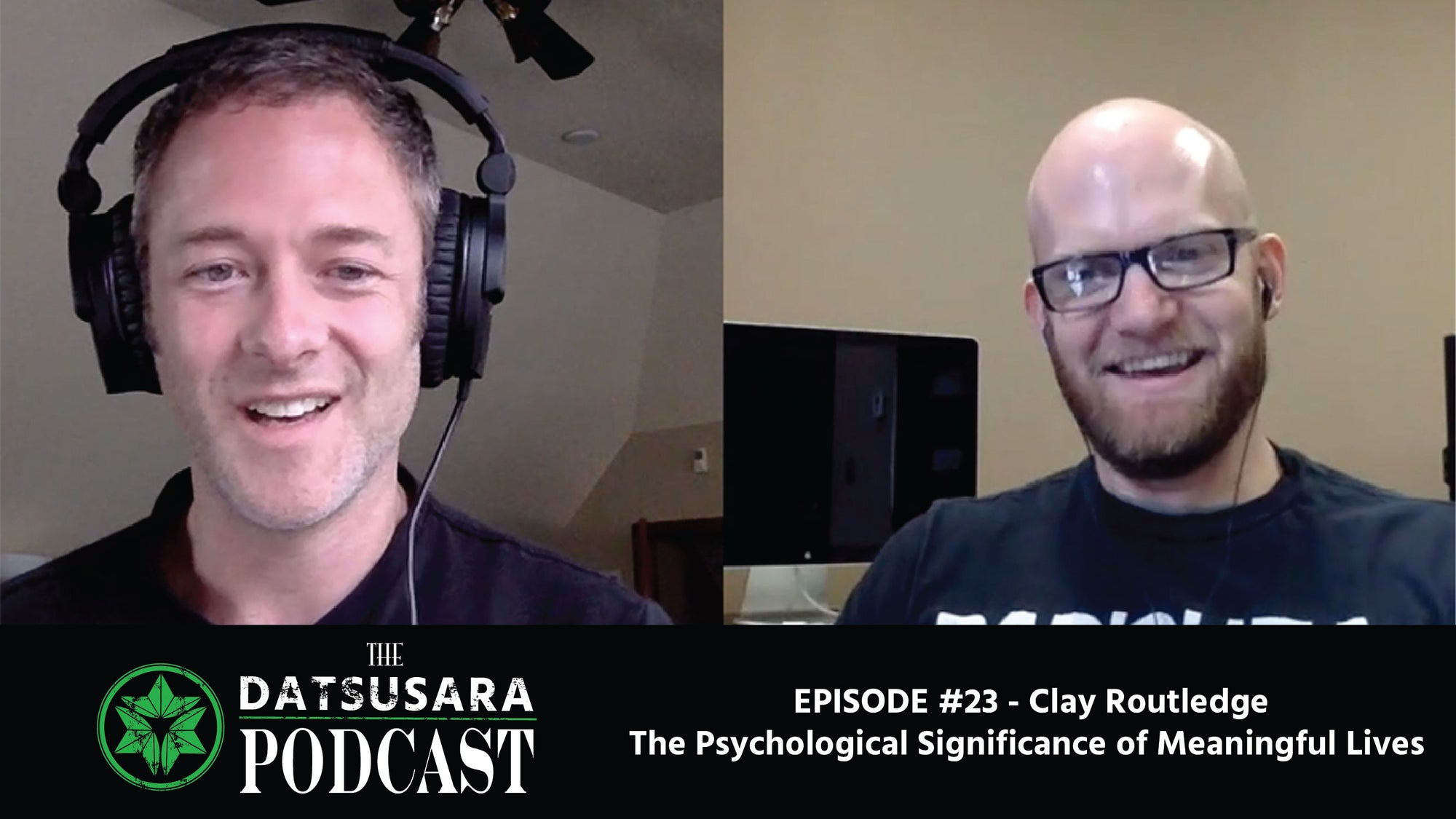 #23 - Clay Routledge - The Psychological Significance of Meaningful Lives