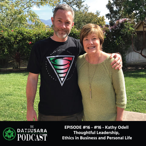 #16 - Kathy Odell - Thoughtful Leadership, Ethics in Business and Personal Life
