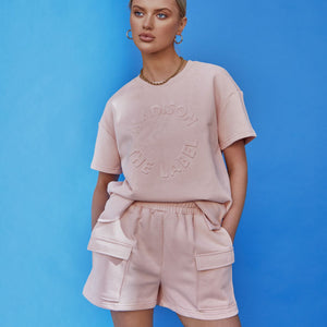 Maxwell Shorts in Blush